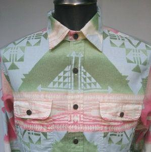 Polo by Ralph Lauren Shirts - Vintage Polo Ralph Lauren tribal Indian shirt